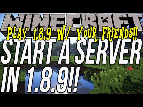 How to start a server in minecraft 1 8 7 play minecraft 1 8 7 w your