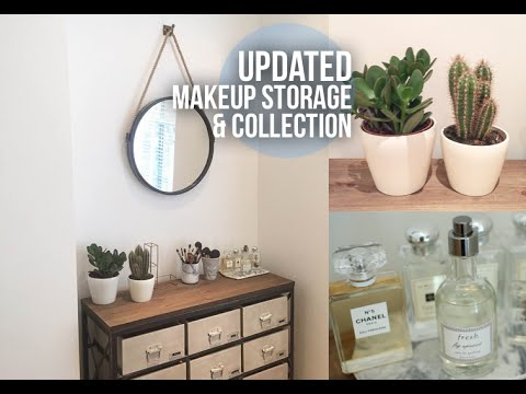 Updated Makeup Storage & Collection | Lily Pebbles