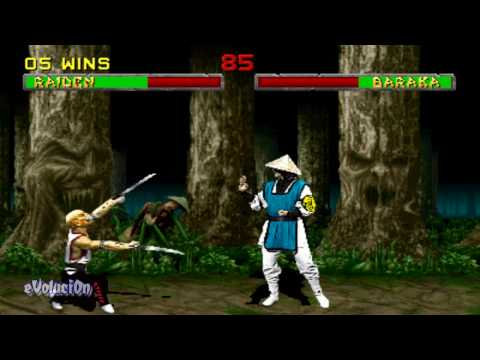 Mortal Kombat II (Arcade) Raiden playthrough (Part 1 of 2)