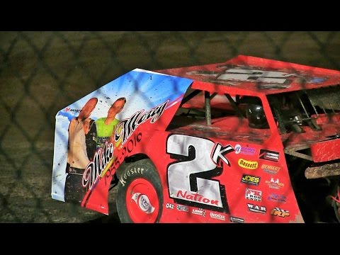 Michigan Dirt Cup Modified feature + interviews at Winston Speedway on 7-22-16 - dirt track racing video image