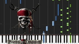 Pirates of the Caribbean - Black Pearl [Original Piano Tutorial] (♫)