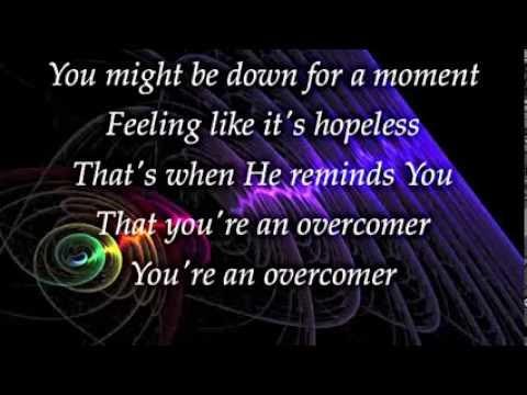 Overcomer By Mandisa With Lyrics Youtube