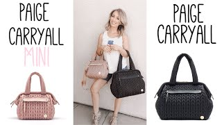 HAPP BRAND PAIGE CARRYALL MINI VS PAIGE CARRYALL ORIGINAL