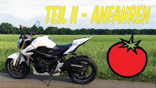 Motorradfahren lernen   Anfahren und Schalten   Teil 2