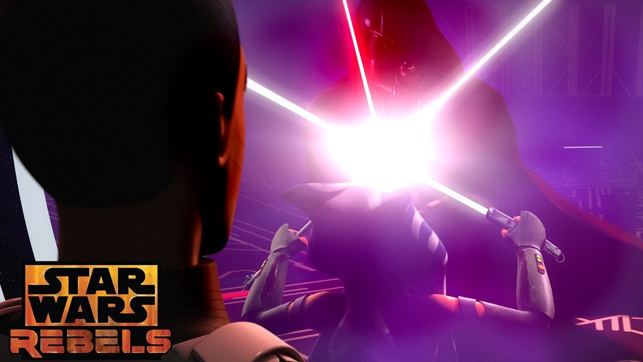 A World Between Worlds: The Return | Star Wars Rebels | Disney XD