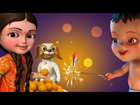 தீபாவளி Deepavali Song | Tamil Rhymes for Children | Infobells