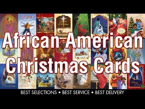 african american christmas cards from www black gifts com youtube