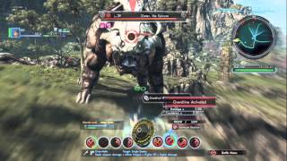Xenoblade Chronicles X - Testing my Astral Crusader Build