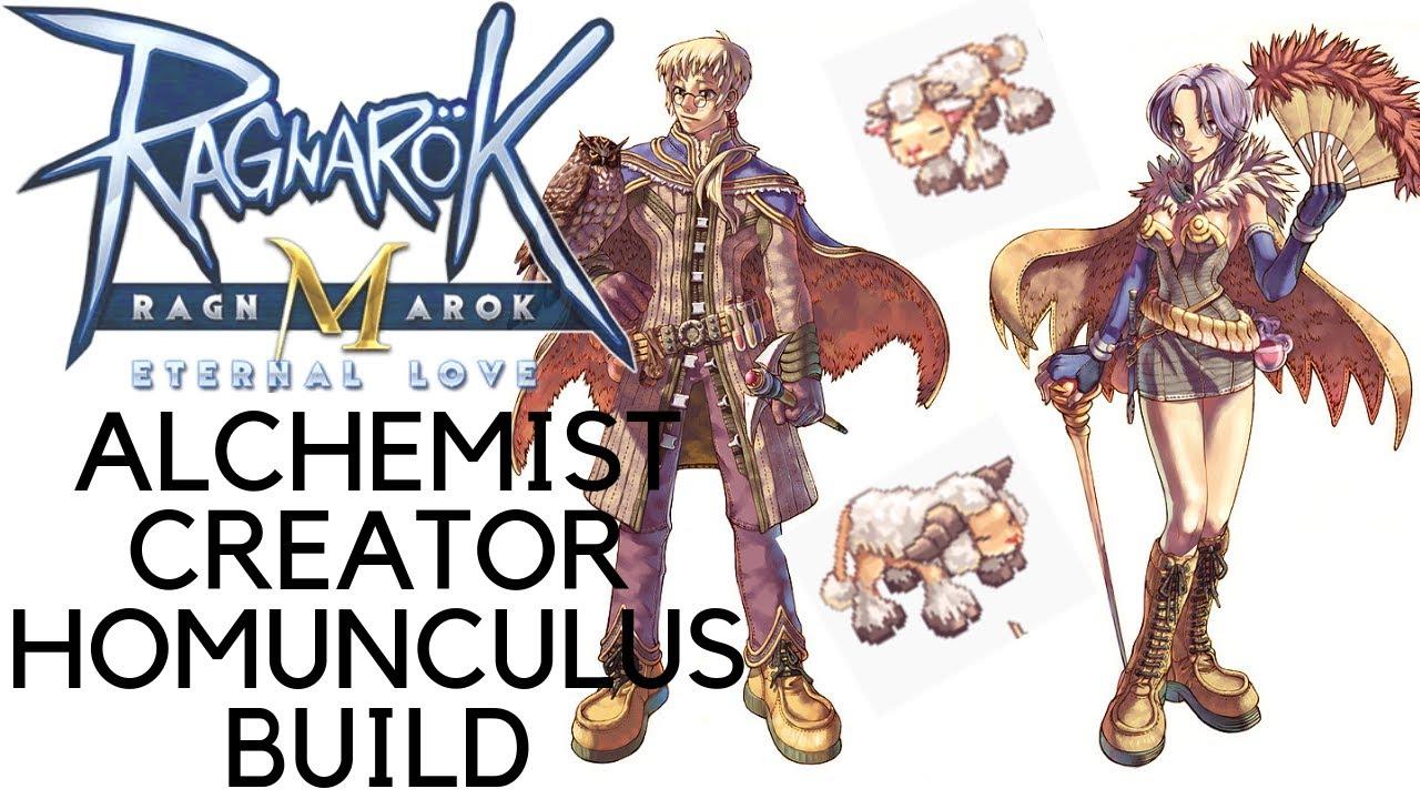 ragnarok mobile eternal love alchemist creator budget homunculus