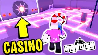 Robbing The Casino For The First Time (Roblox Mad City)