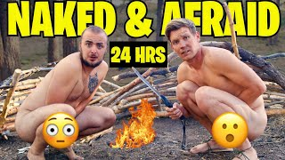 Surviving Naked in the Wild for 24 hours