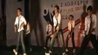 kendriya vidyalaya jagdalpur annual function dance performed by students