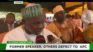 Former Katsina Assembly speaker, others defect to APC