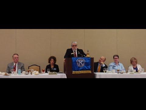 Judge McFadden Georgia Court of Appeals Marietta Kiwanis Club 7 - 13 - 17