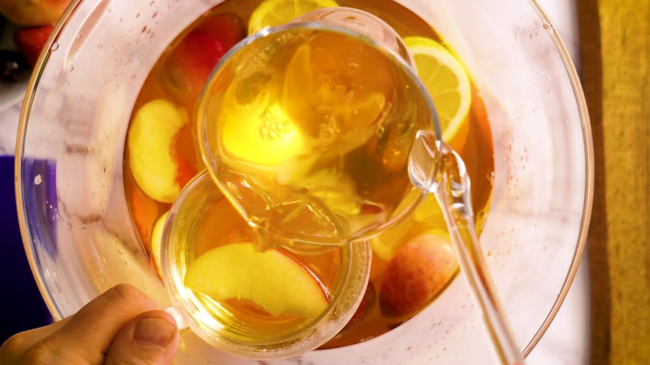 The Southern Belle Punch, perfect for Summer BBQ's & entertaining at home.