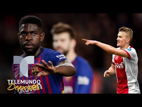 De Ligt podría empujar a Umtiti fuera del Barcelona | La Liga | Telemundo Deportes