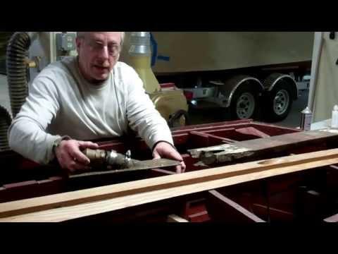 1946 Gar Wood Ensign Keel Fabrication Update 12 17 13