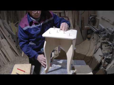 видео: Табурет за час