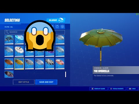 HOW To Get The GOLDEN UMBRELLA In FORTNITE 2020