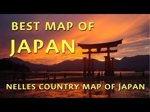 Best Map To Japan: Nelles Japan