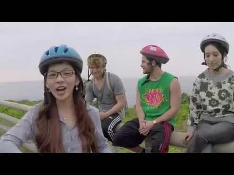 JC Caylen travelling Taiwan on two wheels Blooper#1