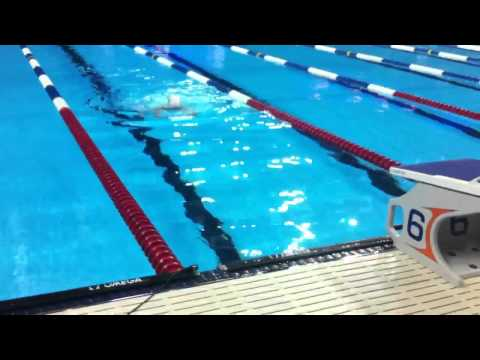 80+ Year Old Swimmer Brings It