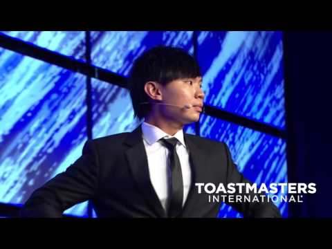2016 World Champion of Public Speaking, Darren Tay Wen Jie