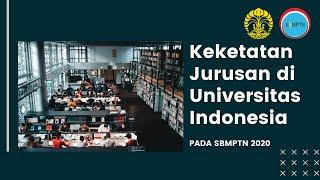 Keketatan Jurusan di Universitas Indonesia (UI) pada SBMPTN 2020