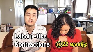 Labour-like Contractions at 22 Weeks