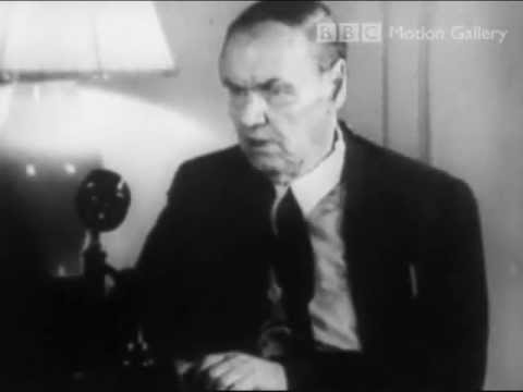 Clarence Darrow attacks the New Deal