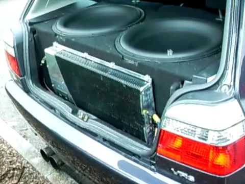 """vr6 230 bhp 2 x RE Mx 18""""s and 4000watts rms"""