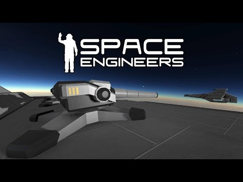 Space Engineers - Battle Cannon And Turrets - New Weapon Mod