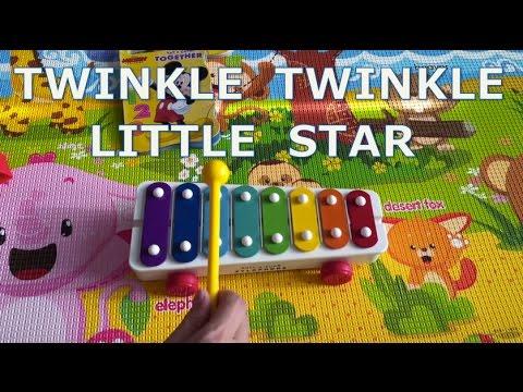 Xylophone xylophone chords twinkle twinkle little star : Twinkle Twinkle Little Star on Fisher Price Xylophone - YouTube
