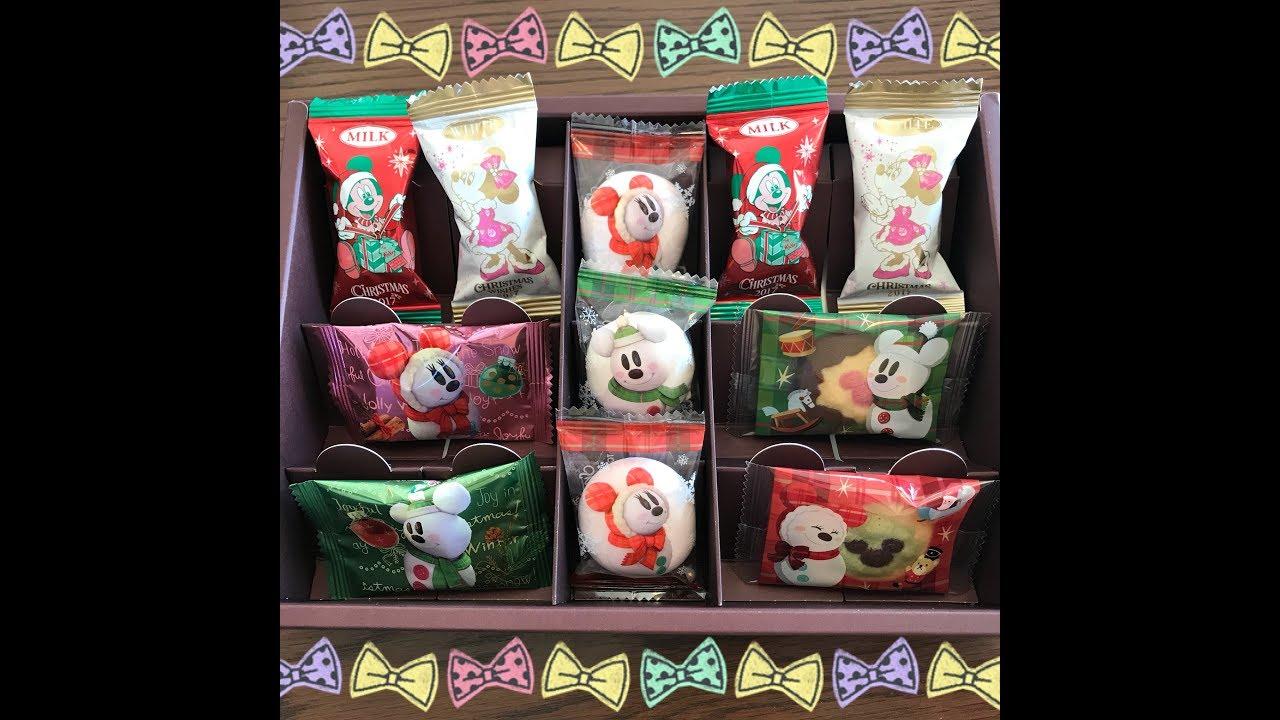 ◻ ◼ ディズニーのお菓子を小分け&箱詰め(お土産袋、空き箱、100均