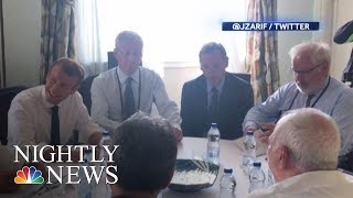 Iran's Zarif Surprises White House At G-7 Summit | NBC Nightly News