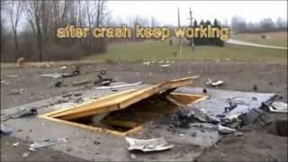 CRASH TEST A260 2013 ROAD BLOCKER