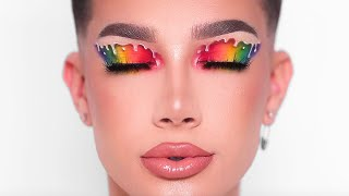 "HI SISTERS! Welcome back to my channel, it's been a while. Today's video is a chit chat get ready with me. I talk about what I've been doing for the past month during my social media break and also show you how to create a dripping rainbow pride makeup look. I really hope you enjoy, I'm so excited to be back. ❤️   PREVIOUS VIDEO » https://youtu.be/uE4cfVDMHSo  SISTER'S APPAREL » http://sisters-apparel.com  Subscribe to my channel to join the sisterhood & hit the notification bell so you never miss an upload! » http://bit.ly/JamesCharles for new videos!  __  ❤️ LET'S BE BFFS INSTAGRAM » http://instagram.com/jamescharles TWITTER » http://twitter.com/jamescharles SNAPCHAT » jamescharless __   COUPON CODES   MORPHE BRUSHES » http://morphebrushes.com Use code ""JAMES"" for 10% off all products online AND in store!  LILLY LASHES » https://lillylashes.com/ Use code ""JAMES"" for 15% off all lashes  LAURAS BOUTIQUE » http://lauras-boutique.com Use code ""JAMES"" for 10% off all items  SKINDINAVIA » http://skindinavia.com Use code ""JAMES"" for 25% off all products   __  ♡ MY AMAZING TEAM  EDITOR: Louis Gargiula http://instagram.com/louisgargiula  GRAPHICS: Michael Rusakov http://instagram.com/michael.ny"
