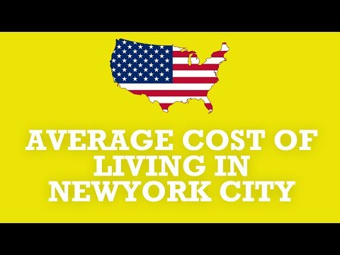 cost of living in newyork city