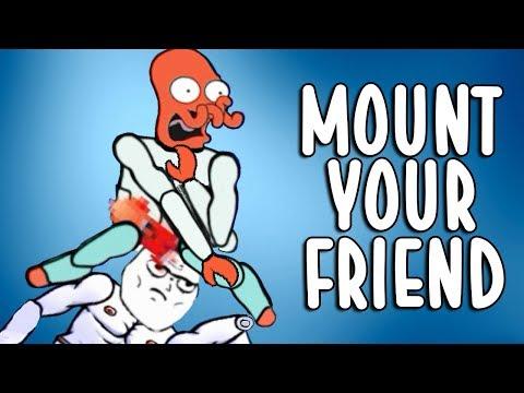 Mount Your Friends - DA LI JE OVO PREVISE?! (UZJASITE PRIJATELJA)