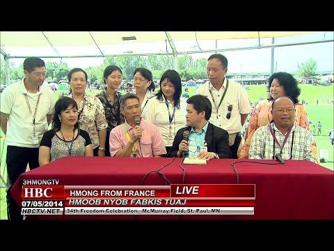3HMONGTV NEWS[HD]:Hmong from France visiting Minnesota.