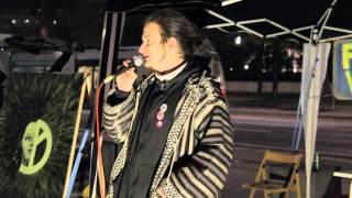 28. Friedensmahnwache Wien: Marcus Grimas über Aktionismus und Kundgebungen
