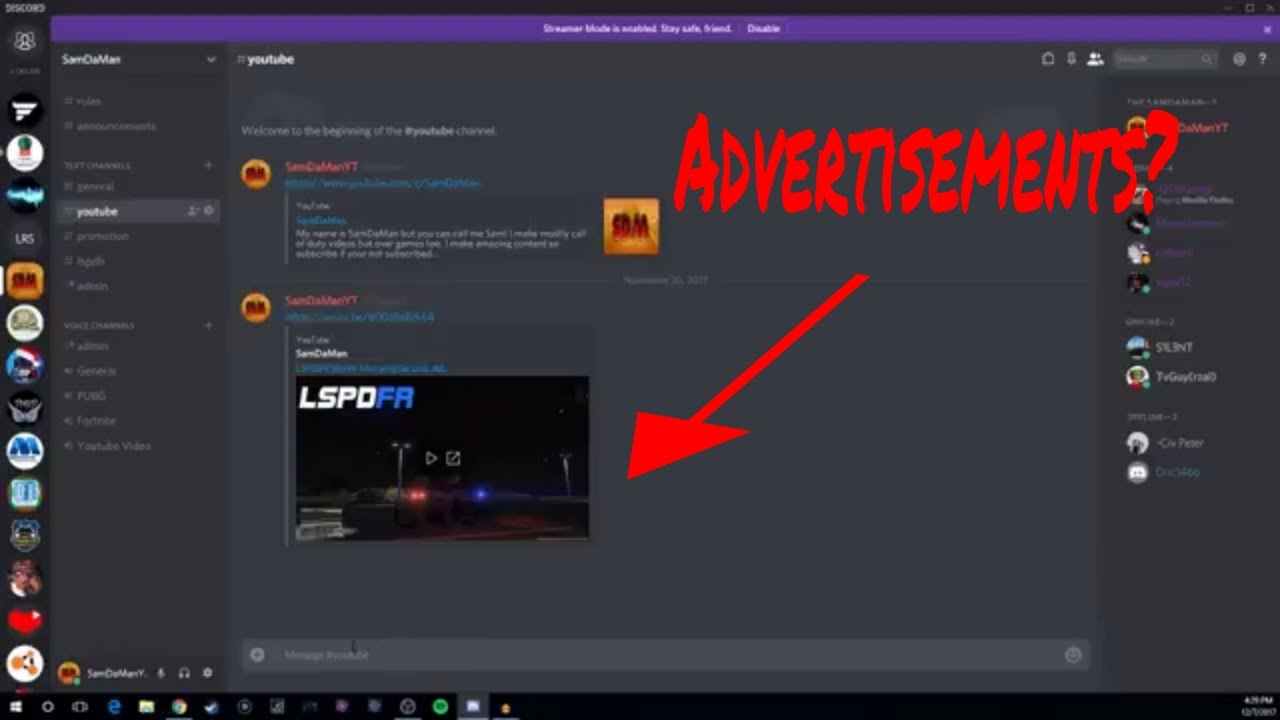 Video Promotion/Gaming Discord Server! (Gain subscribers)