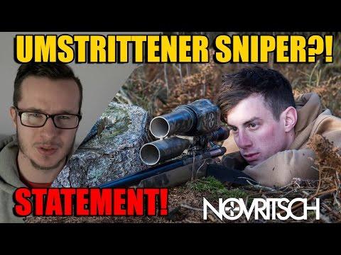 NOVRITSCH Umstrittener SNIPER & PRESSE-HETZE Statement