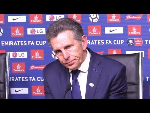 Leicester 1-2 Chelsea - Claude Puel Full Post Match Press Conference - FA Cup