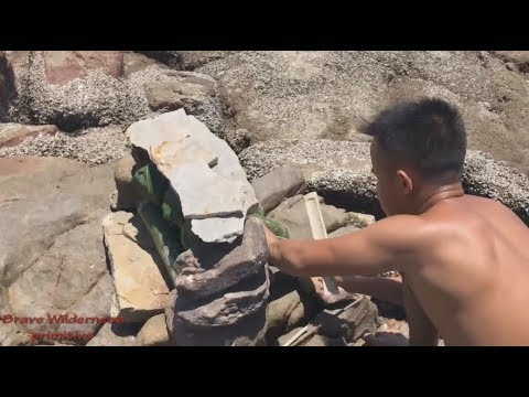 Primitive technology : create fresh water from sea water | pure water