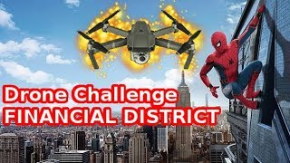 Spider-Man - Drone Challenge (Financial District) Gold Medal: 40373 Points