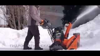видео Самоходный бензиновый снегоуборщик Husqvarna ST276EP купить