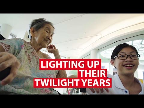 Lighting Up Their Twilight Years | CNA Insider