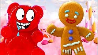 ЖЕЛЕЙНЫЕ МЕДВЕДИ в ROBLOX! МИР СЛАДОСТЕЙ, конфет и тортиков в Роблоксе с мульт героем Кидом #КИД