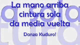 Danza Kuduro  con letra